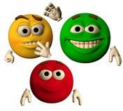 Los colores de la alegría Imágenes de archivo libres de regalías