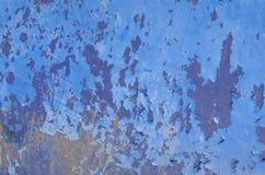 Los colores de la grieta en la superficie Imágenes de archivo libres de regalías