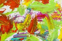 Los colores del artista cepillan el fondo al azar ilustración del vector