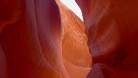Los colores del barranco del antílope en Arizona - fotografía del viaje metrajes