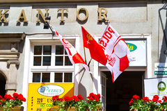 Los colores del euro 2012. Imagen de archivo libre de regalías