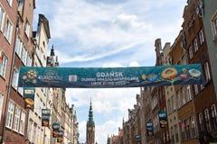 Los colores del euro 2012. Foto de archivo libre de regalías