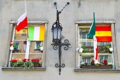 Los colores del euro 2012. Fotos de archivo