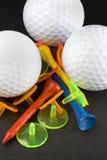 Los colores del golf Imágenes de archivo libres de regalías