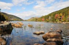 Los colores del otoño en el parque nacional de barra se abrigan, Fotos de archivo libres de regalías
