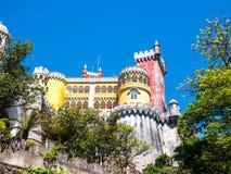 Los colores del palacio Imagen de archivo