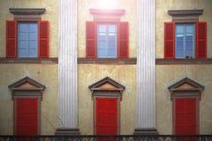 Los colores encantadores de Italia fotografía de archivo