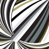 Los colores metálicos del espectro resumen vagos de la raya del globo del círculo del arco iris stock de ilustración