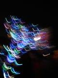 Los colores se encienden en el movimiento imagen de archivo