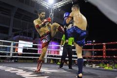 Campeonatos del mundo de Muaythai Imágenes de archivo libres de regalías