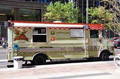 Los Compadres food truck Stock Photos