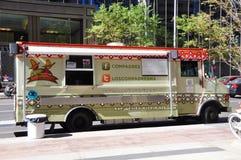Los Compadres voedselvrachtwagen Stock Foto's