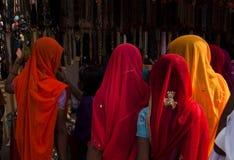Los compradores coloridos Fotos de archivo
