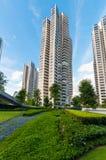 Los condominios de D'Leedon en Singapur diseñan por el hadid de Zaha imagen de archivo libre de regalías
