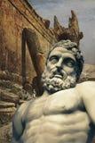 Los constructores gigantes de Baalbek imagen de archivo libre de regalías