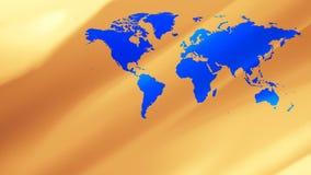 Los continentes de la tierra trazan el fondo global ilustración del vector