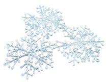 Los copos de nieve de la Navidad Imagen de archivo libre de regalías