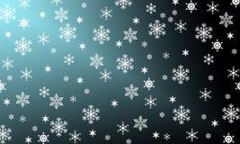 Los copos de nieve son milagro Imagen de archivo libre de regalías