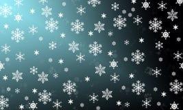 Los copos de nieve son milagro Fotografía de archivo libre de regalías