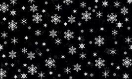 Los copos de nieve son milagro Imágenes de archivo libres de regalías
