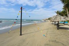 Los Corales hotel, Mancora, Peru royalty-vrije stock afbeelding