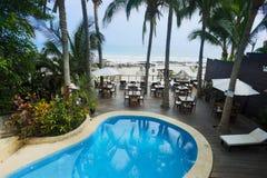 Los Corales hotel, Mancora, Peru Zdjęcie Stock