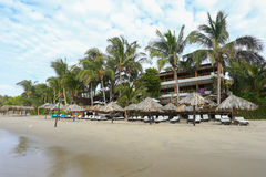 Los Corales hotel, Mancora, Peru Obraz Royalty Free