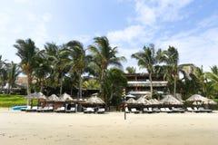 Los Corales hotel, Mancora, Peru Stock Image