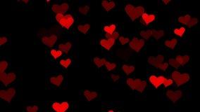 Los corazones rojos dan a luz en grandes números libre illustration
