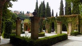 Los Cordovas宫殿Albayzin格拉纳达 库存照片