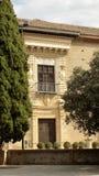 Los Cordovas slott-Albayzin-Granada Royaltyfria Foton