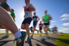 Corredores, maratón Fotos de archivo libres de regalías