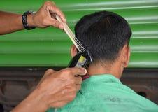 Los cortes del pelo liberan Fotografía de archivo