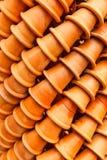 Los crisoles de arcilla cocidos al horno Imágenes de archivo libres de regalías
