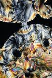 Los cristales coloridos se cierran para arriba fotos de archivo