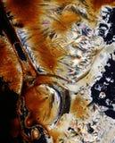 Los cristales coloridos se cierran para arriba imagenes de archivo