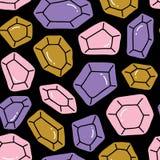 Los cristales son BFF stock de ilustración