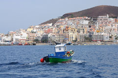 Los Cristianos. Canary Island Tenerife Royalty Free Stock Photos