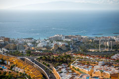 Los Cristianos city Royalty Free Stock Images
