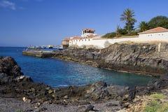 Los Cristianos Coastline Royalty Free Stock Image