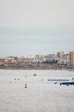 Los Cristianos Ocean Town Stock Photos
