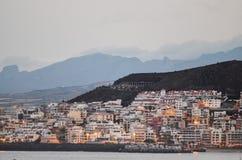 Los Cristianos Ocean Town Stock Photo