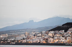 Los Cristianos Ocean Town Royalty Free Stock Images
