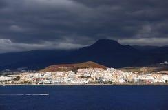 Los Cristianos resort in Tenerife Stock Images