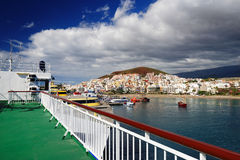 Los Cristianos resort in Tenerife Royalty Free Stock Photo