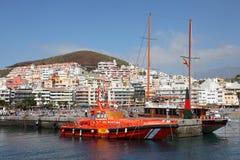 Los Cristianos, Tenerife fotografie stock libere da diritti