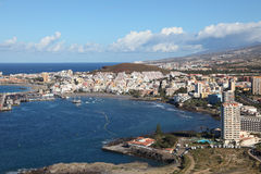Los Cristianos, Tenerife Spanien Stockbilder