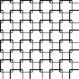 Los cuadrados con las esquinas redondeadas forman una rejilla Fotos de archivo libres de regalías