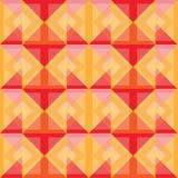 Los cuadrados del extracto calientan diseño del fondo Imagen de archivo libre de regalías
