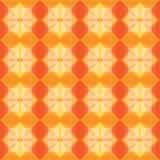 Los cuadrados modelan el fondo caliente Fotos de archivo